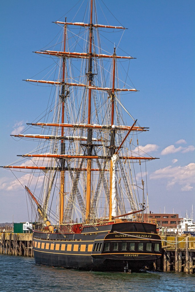 The SSV (Sailing School Vessel) Oliver Hazard Perry
